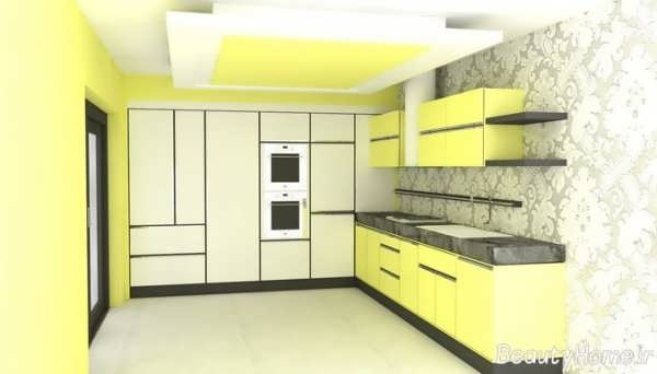 طراحی داخلی آشپزخانه زیبا و شیک