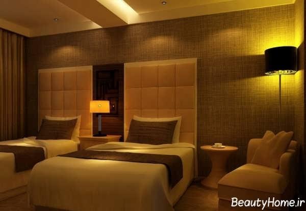 دکوراسیون اتاق خواب هتل