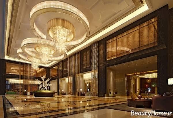 دکوراسیون شیک و زیبا هتل