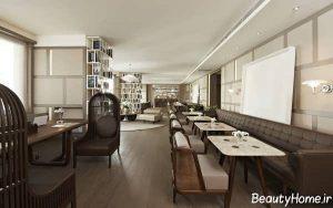 طراحی شیک و کاربردی هتل