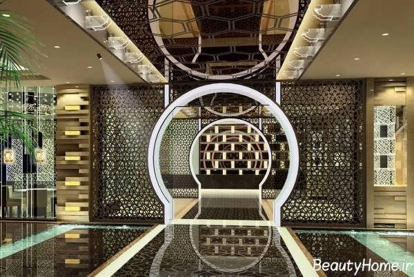طراحی ورودی هتل