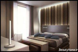 طراحی داخلی اتاق خواب هتل