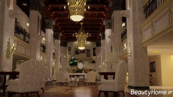 دکوراسیون شیک و مدرن هتل