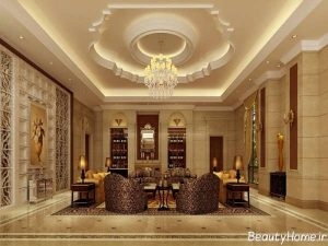 طراحی داخلی لابی هتل
