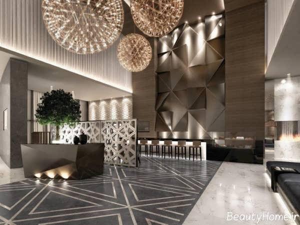 طراحی دکوراسیون داخلی هتل شیک