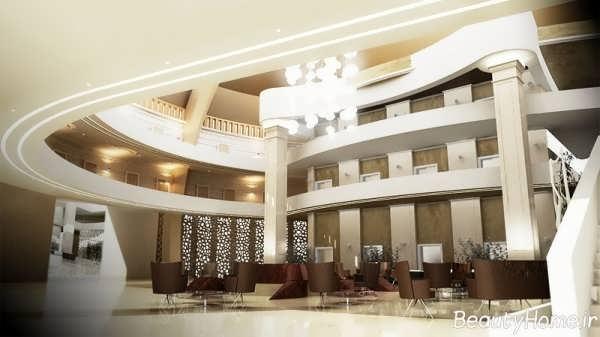دکوراسیون هتل مدرن