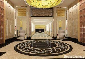 دکوراسیون لابی هتل