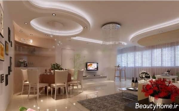مدل کناف سقف و دیوار با طراحی زیبا و کاربردی