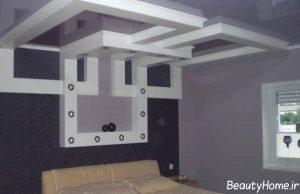 مدل کناف سقف و دیوار مدرن و شیک