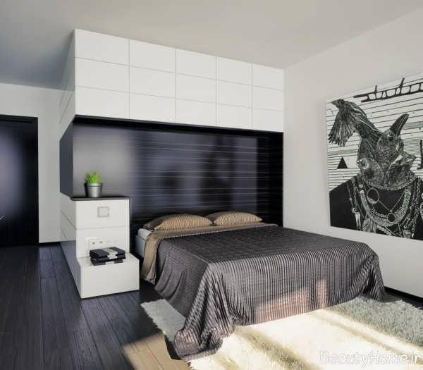 مدل اتاق خواب شیک و مدرن