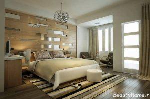 طراحی دکوراسیون داخلی اتاق خواب شیک و زیبا