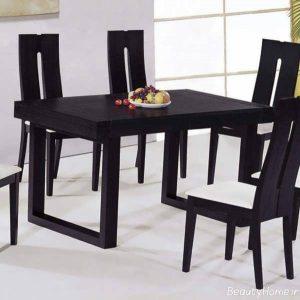 میز ناهار خوری چوبی شیک و زیبا