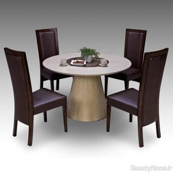 مدل میز ناهار خوری مدرن و شیک 4 نفره