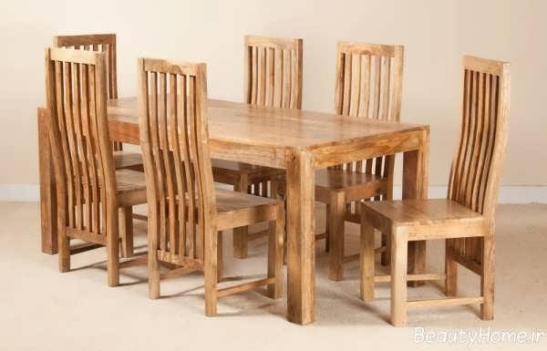 مدل میز ناهار خوری زیبا و شیک