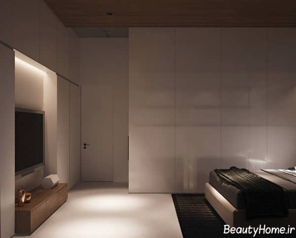 دکوراسیون داخلی اتاق خواب مدرن و شیک