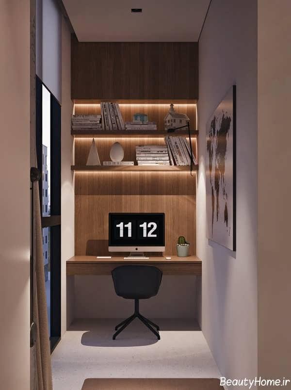 دکوراسیون داخلی آپارتمان مدرن و جذاب