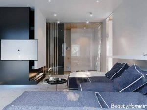 طراحی دکوراسیون داخلی آپارتمان مدرن و شیک