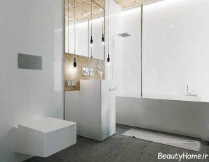 دکوراسیون سفید آپارتمان 4 متری