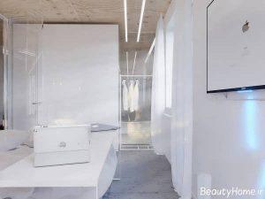 دکوراسیون آپارتمان 4 متری شیک و متفاوت