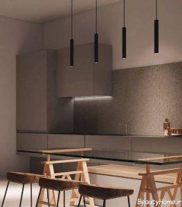 طراحی داخلی آپارتمان مدرن و شیک