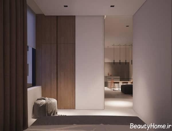 طراحی شیک و مدرن آپارتمان