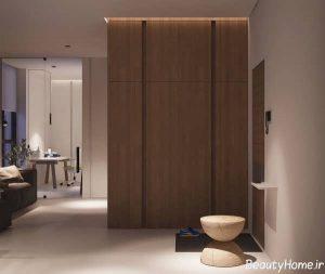 طراحی زیبا و جذاب آپارتمان