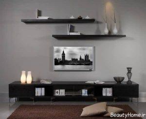 میز تلویزیون دیواری و زیبا