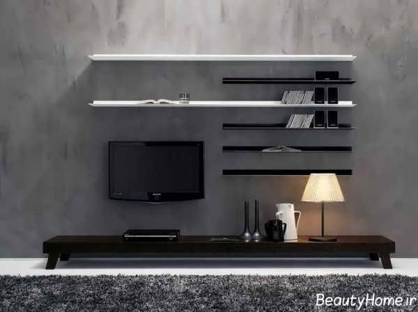 مدل میز تلویزیون با طراحی شیک و کاربردی