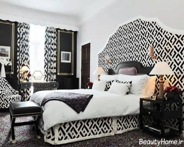 دکوراسیون مدرن و شیک اتاق خواب کوچک