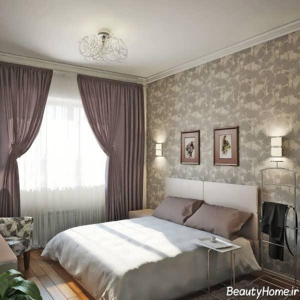 طراحی دکوراسیون مدرن اتاق خواب کوچک