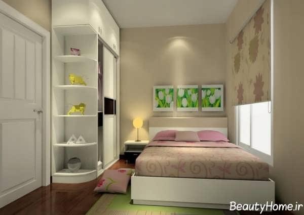 دکوراسیون داخلی شیک و کاربردی اتاق خواب
