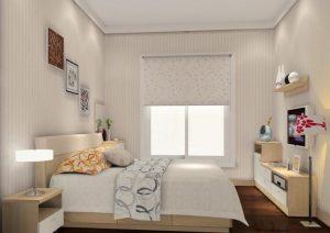 دکوراسیون اتاق خواب های کوچک با طراحی اصولی و شیک