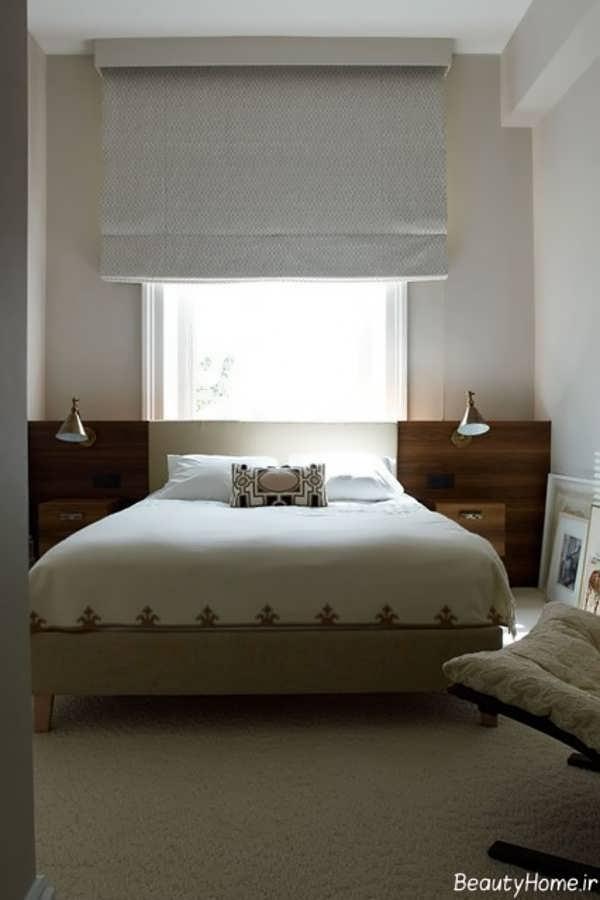 دکوراسیون زیبا و مدرن اتاق خواب کوچک