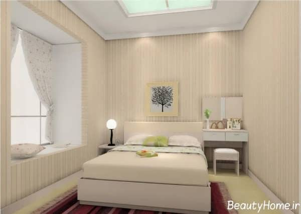 دکوراسیون داخلی شیک اتاق خواب های کوچک