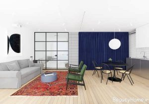 طراحی آپارتمان شیک و مدرن