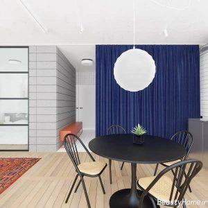 دکوراسیون داخلی آپارتمان شیک و کوچک