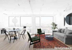 دکوراسیون زیبا و شیک آپارتمان