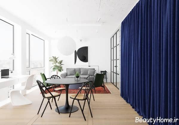 دکوراسیون کامل آپارتمان کوچک