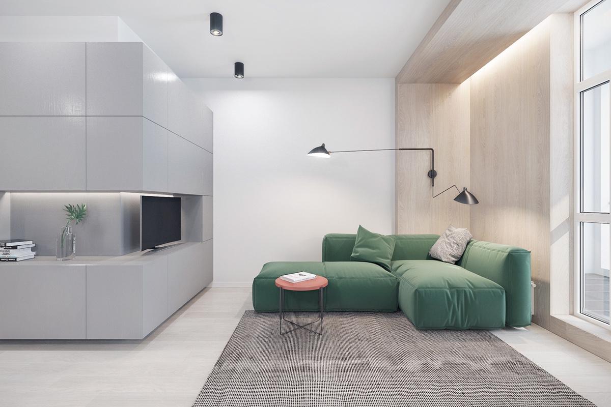 طراحی دکوراسیون 3 آپارتمان شیک