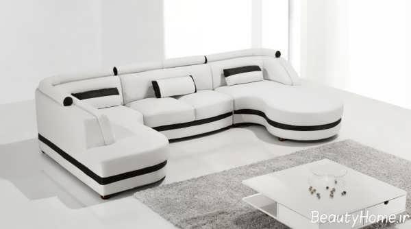 مدل مبل راحتی سفید