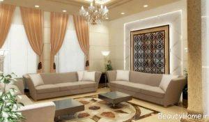 طراحی سالن پذیرایی عربی