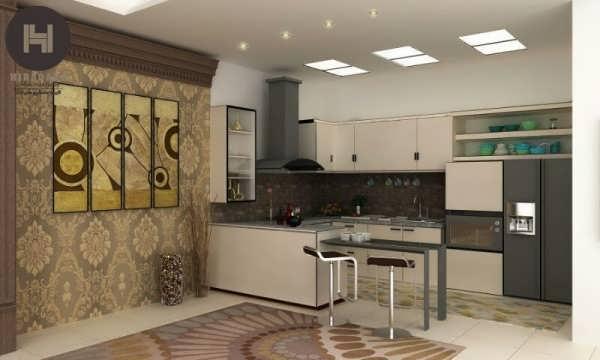 دکوراسیون داخلی زیبا آشپزخانه