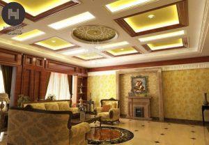 دکوراسیون لوکس داخلی خانه