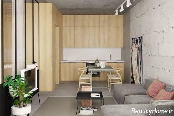 دکوراسیون داخلی خانه ای شیک و زیبا