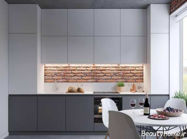 طراحی داخلی آشپزخانه مدرن و زیبا
