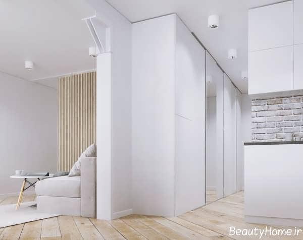 دکوراسیون داخلی زیبا و شیک خانه آپارتمانی