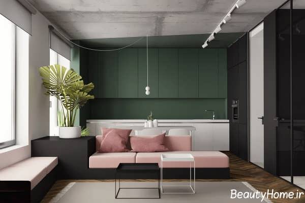 طراحی داخلی شیک منزل زیبا