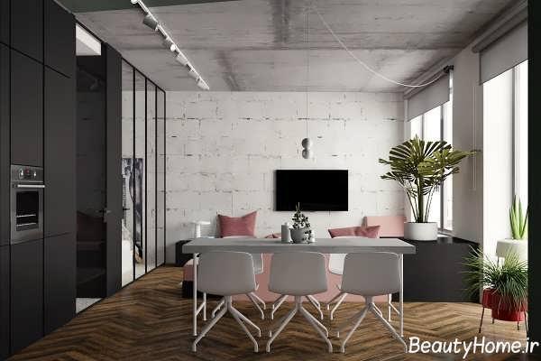 طراحی شیک و جذاب خانه ای زیبا