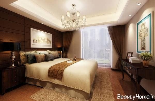 طراحی دکوراسیون کاربردی و شیک اتاق خواب