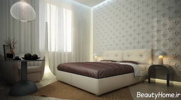 دکوراسیون شیک و زیبا اتاق خواب